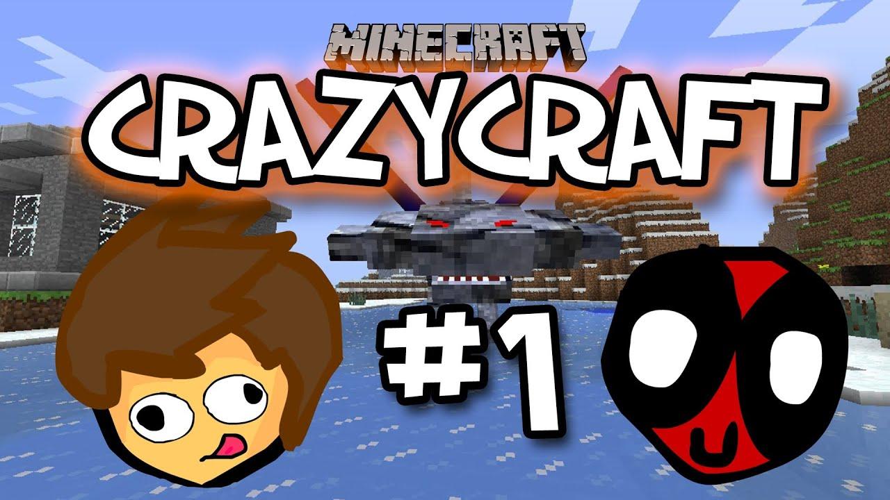 Minecraft Crazy Craft Modded
