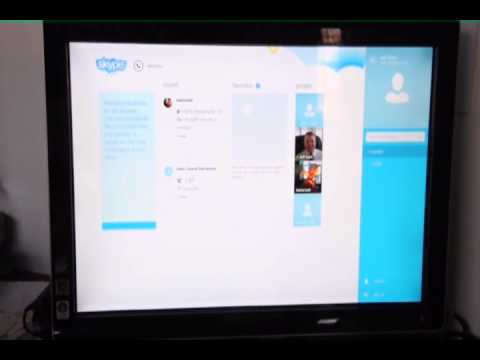 Adjusting your User Profile on Skype in Windows 8