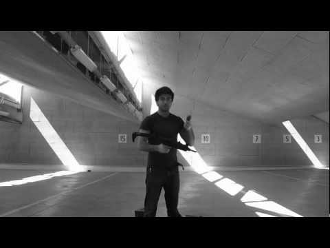 Full auto Vector Uzi Sub Machine Gun - My first time shooting mine