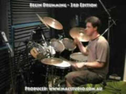 Online Video Drum Lessons 7 - 16ths on snare