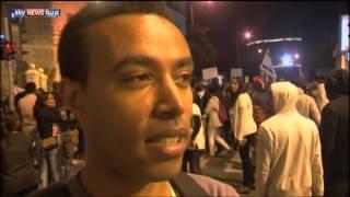 تظاهرات حاشدة ليهود الفلاشا بإسرائيل