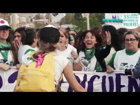 Marcha 33 Encuentro Nacional de Mujeres, CHUBUT