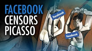 """Picasso's """"abstract boobs"""" trigger Facebook's """"anti-nudity policy""""   David Menzies"""