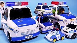타요 꼬마버스 타요 패트 Tayo 뽀로로 경찰차 또봇C 로보카폴리 뽀로로4기 장난감 Tayo Pororo Police Cars, Robocar Poli, Tobot toys