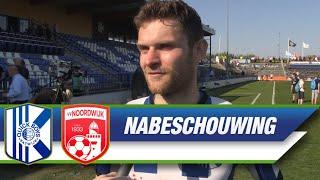 Interview met Dennis Kaars na afloop van Quick Boys - VV Noordwijk