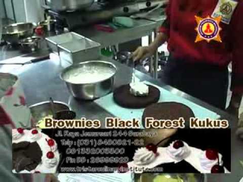 CARA MEMBUAT BROWNIES FOREST KUKUS. YANG BAIK DAN BENAR