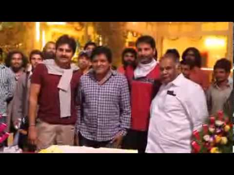 Doctorate to comedian Ali Celebrated at the sets of Pawan Kalyan - Trivikram s film
