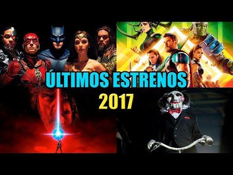 ULTIMOS ESTRENOS DE PELICULAS NOVIEMBRE DICIEMBRE 2017   PELICULAS MAS ESPERADAS   TRAILER