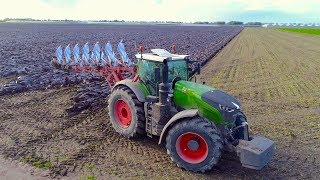 Ploughing & Wheat Drilling | Fendt 1050 - John Deere 8345RT | Immink Amstelveen [Heavy soil]