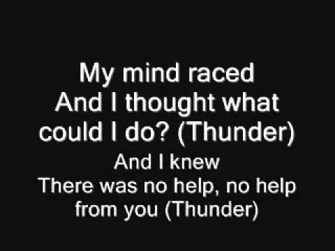 ACDC   Thunderstruck Lyrics