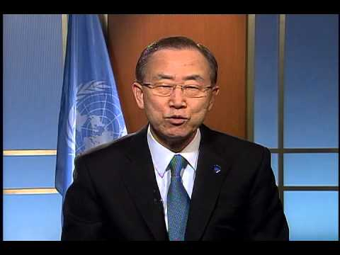 UN Secretary-General Ban Ki-moon at the Women Deliver 2013 Conference