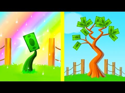 Эволюция ДЕНЕЖНОГО ДЕРЕВА! - Money Tree (Clicker Game)