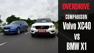Volvo XC40 vs BMW X1 xDrive20d   Comparative Review   OVERDRIVE