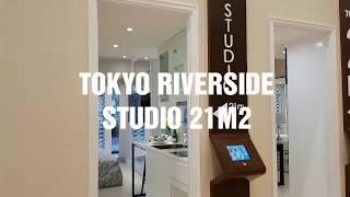 TOKYO RIVERSIDE - STUDIO ( 21M2 )   APARTEMEN PIK 2