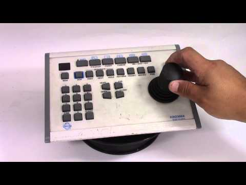 Selling Used Pelco KBD300A Full Function Keyboard with Fixed or Variable Speed PTZ Control