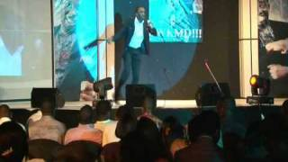 Bovi performing at Jedi Live in LWKMD 2010 Lagos Edition