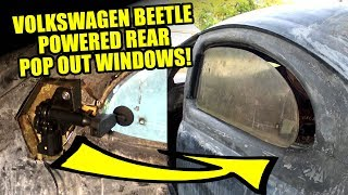 VW Beetle Power Pop Out Windows 1 - ROTTEN OLD 1956 - 106