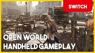 Assassin's Creed 3 Remastered Switch - Open World Portable Extended Gameplay