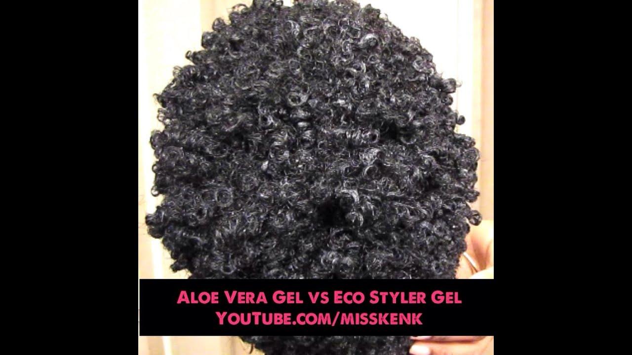 Wash And Go Comparing Eco Styler Gel Vs Aloe Vera Gel