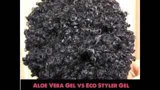 💙Wash and Go Comparing Eco Styler Gel vs Aloe Vera Gel💚