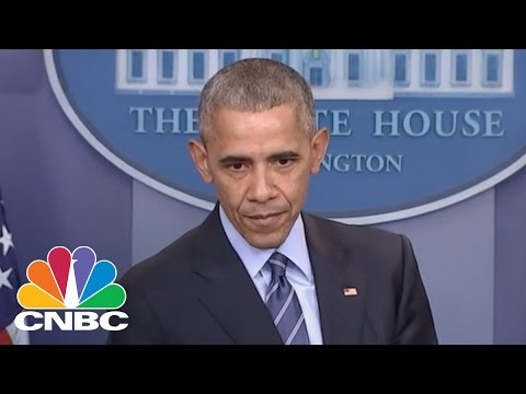 President Obama: Told Vladimir Putin To 'Cut It Out' On Hacking   CNBC