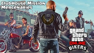 GTA 5 Online - ClubHouse Mission - Mercenaries