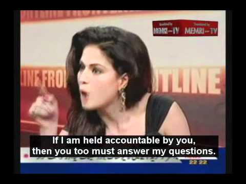 Pakistani Actress Veena Malik Defies Mullah Accusing Her of Immoral Behavior (memri.org)