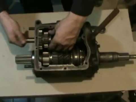 Коробка передач УАЗ 452: