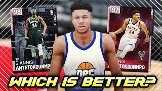 NBA 2K19 NEW PINK DIAMOND GIANNIS GAMEPLAY! | BETTER THAN THE OTHER PINK DIAMOND IN NBA 2K19 MyTEAM?