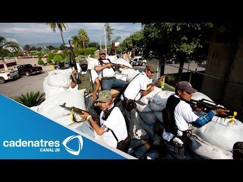 Autodefensas toman Nueva Italia Michoacán bastión de Los Caballeros Templarios