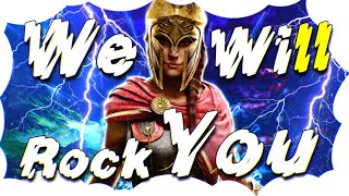 J2 - We Will Rock You & Queen Vocals & Orchestral Mix 【GMV】 Remastered Version