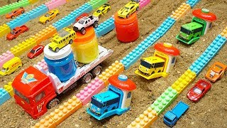 Build Swimming Pool Blocks Toys For Kids | Construction Vehicles Toys for Children | Kids and Toys