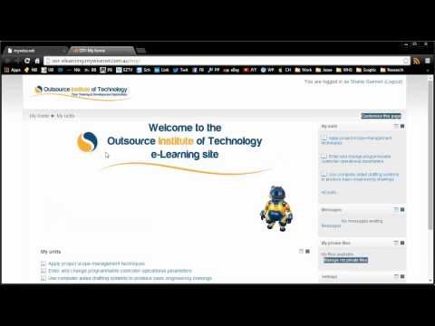 Online introduction to Moodle
