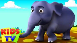 Hathi Raja Kahan Chale | हाथी राजा कहाँ चले | Hindi Nursery Rhymes by Kids TV
