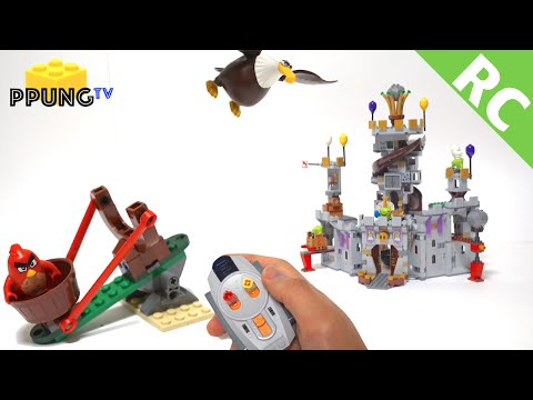 LEGO Angry Birds 75826 RC Shooting 'King Pig's Castle' by 뿡대디