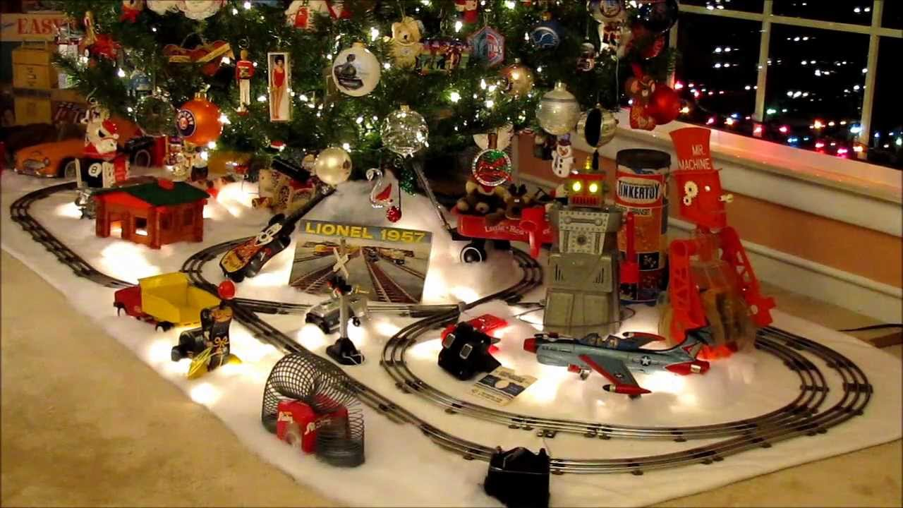 Train For Around Christmas Tree