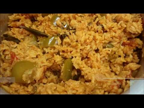 Capsicum Rice | Lunch Box Variety Rice