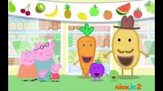 Peppa Pig - fruit day
