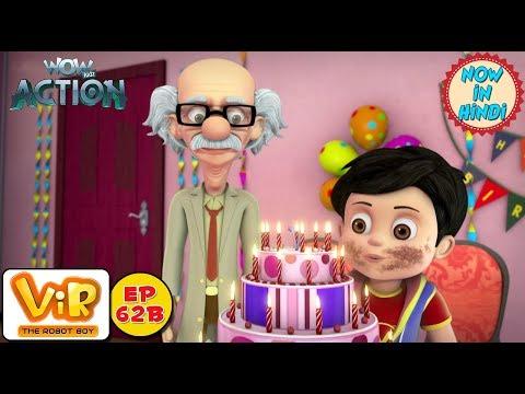 Vir: The Robot Boy | Vir ka Birthday | As Seen On HungamaTV | WowKidz Action