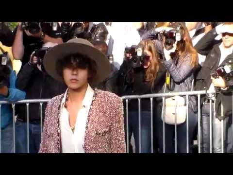 Gd G-dragon 권지용  Paris Fashion Week 30 September 2014 Chanel video