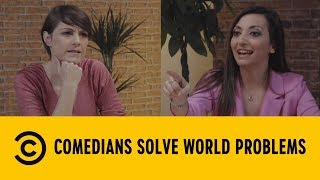 Comedians Solve World Problems: Legittima Difesa - Velia Lalli e Martina Dell'Ombra