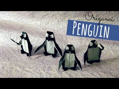 How to make an origami Penguin!