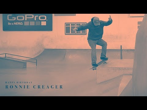 Happy Birthday Ronnie Creager!