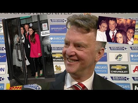 Louis van Gaal Celebrates Manchester Derby Win With Wings Chinese Meal