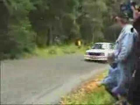 The worst rally corner ever?