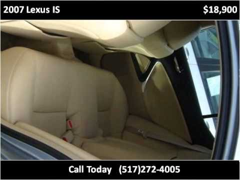 2007 Lexus IS Used Cars Lansing MI