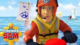 Fireman Sam New Episodes 2016 - The Regatta! ⚓ Ocean Rescue ⚓ PART 3/5