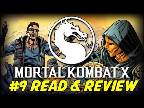 Mortal Kombat X #9 Betrayal In Outworld Part 3 Of 3 (read & Review) video