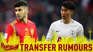 Asensio, Alisson & Heung-min Son Latest | LFC Transfer News LIVE