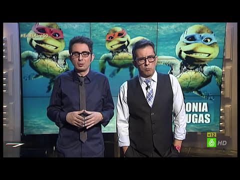 En el aire - Buenafuente y Berto improvisan el monólogo del programa 50 de En el aire